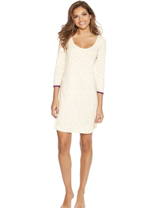 Maidenform Womens Lace Sleepshirt