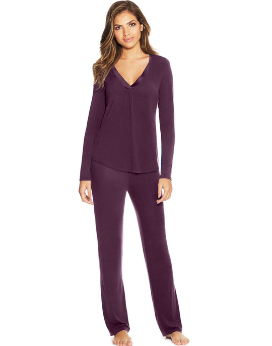 Maidenform Womens V-Neck PJ Set