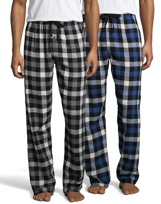 Hanes Mens Flannel Pant 2-Pack