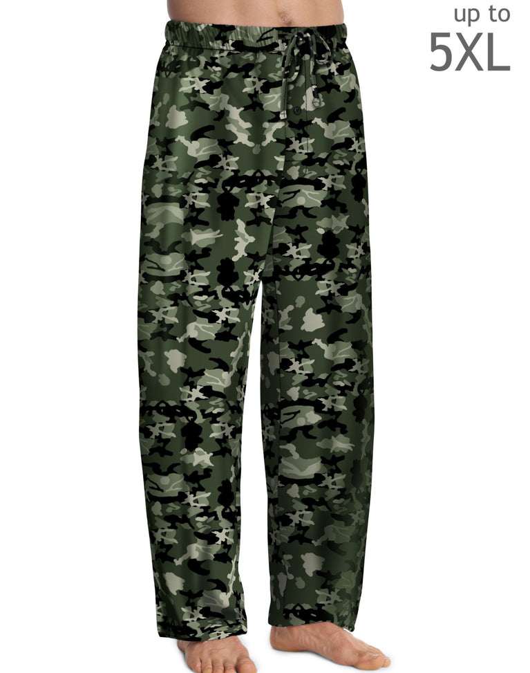 Hanes Men`s ComfortSoft Cotton Printed Lounge Pants