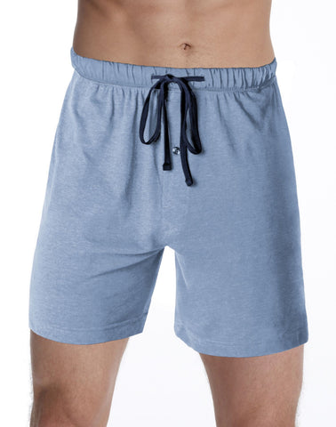 Hanes Men`s Logo Knit Shorts