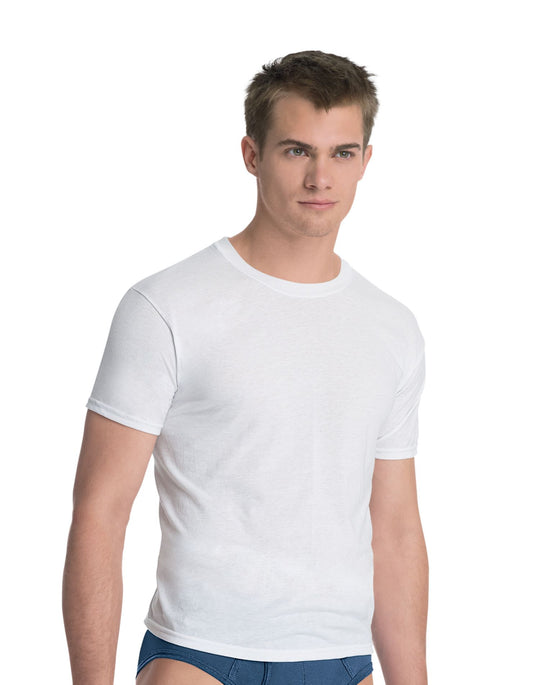 Hanes Men's ComfortBlend Slim Fit Crew