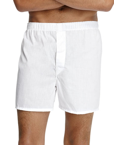 Hanes Men`s TAGLESS Full-Cut Boxer with Comfort Flex Waistband 4-Pack