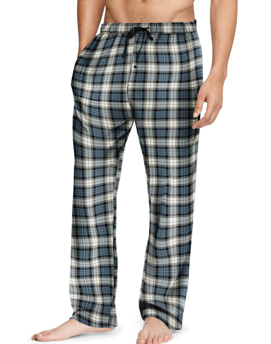 Hanes Men`s Flannel Pants with Comfort Flex Waistband