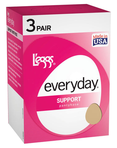 Legg`s Women`s Control Top Panty Hose 3 Pack