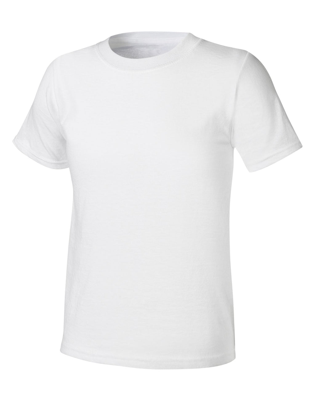 Hanes Ultimate X-TEMP® Boys` TAGLESS® White Crew