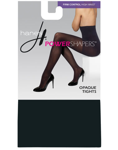 Hanes Women`s Firm Control High Waist Power Shapers™ Opaque Tights