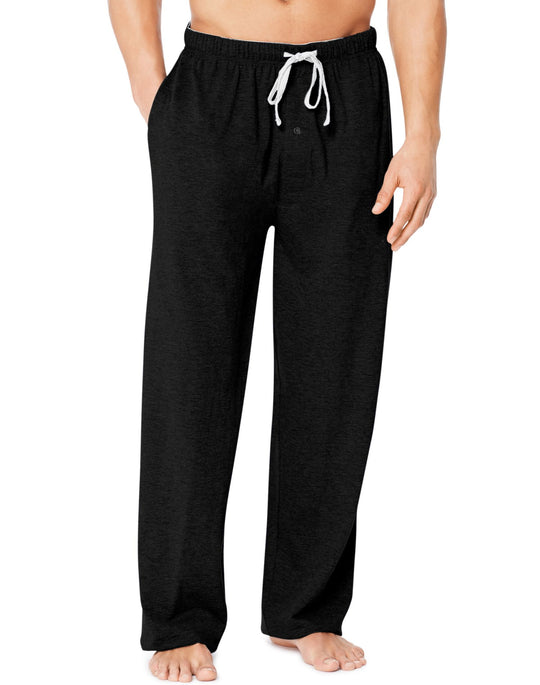 Hanes X-Temp Men`s Jersey Pant with ComfortSoft Waistband