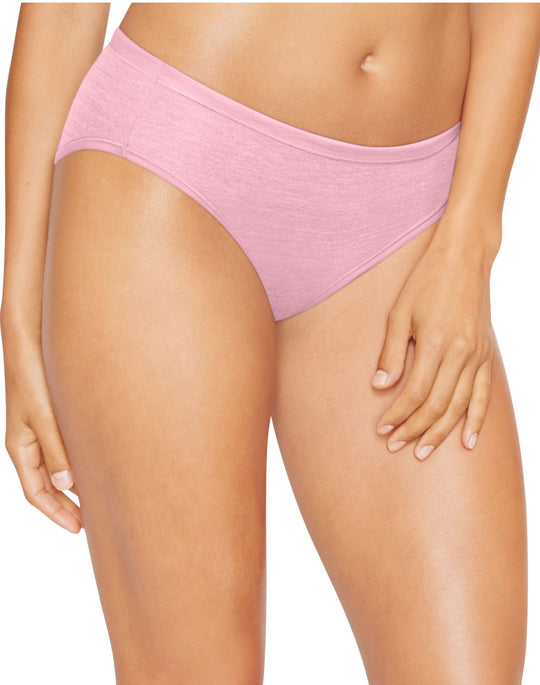 Hanes Womens Ultimate Comfortsoft Bikinis 4-Pack