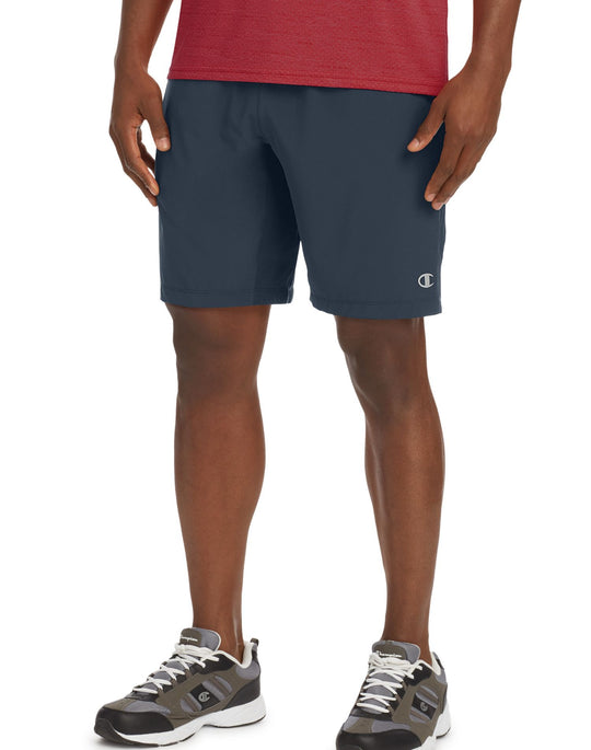 Champion Mens Run Shorts, 9-inch Inseam