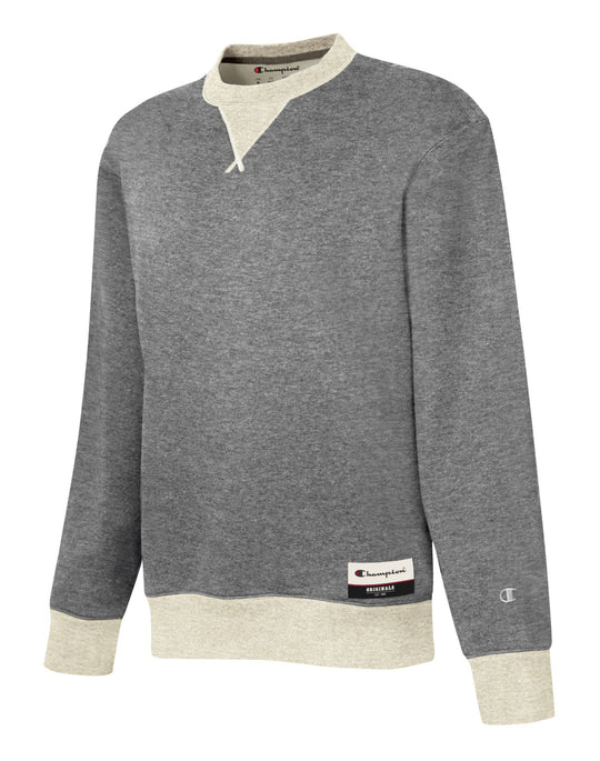 Champion Mens Authentic Originals Sueded Fleece Sweatshirt