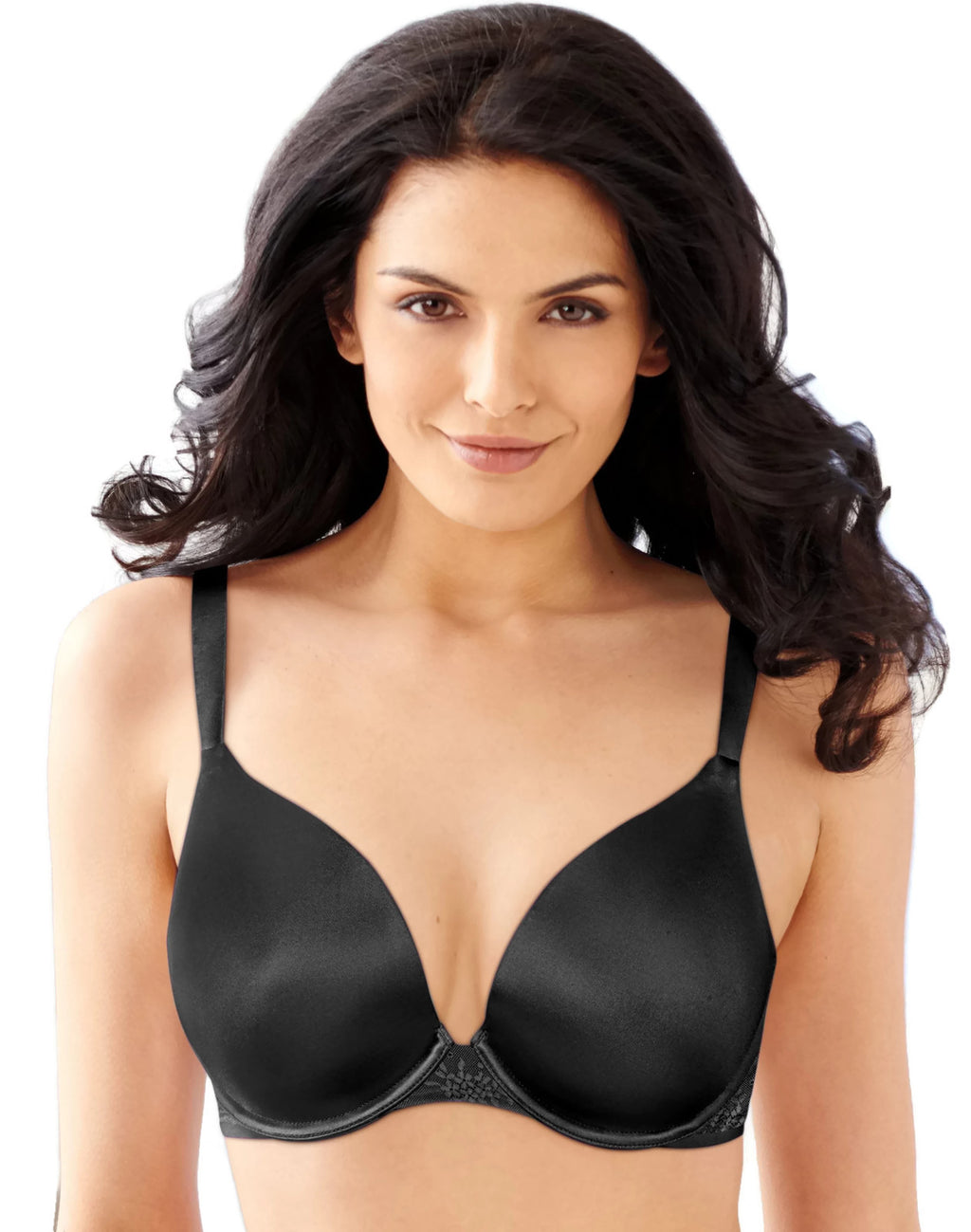 Bali Women`s Satin Desire Natural Lift Underwire Bra