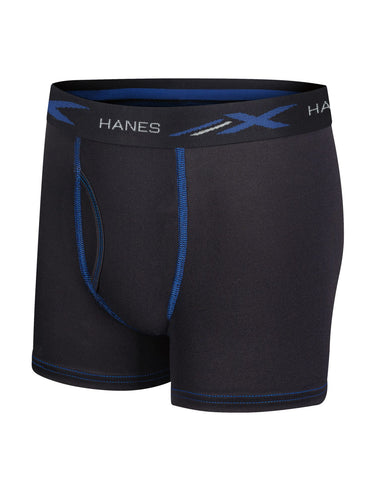 Hanes Boys Ultimate X-Temp Performance Boxer Briefs 3-Pack