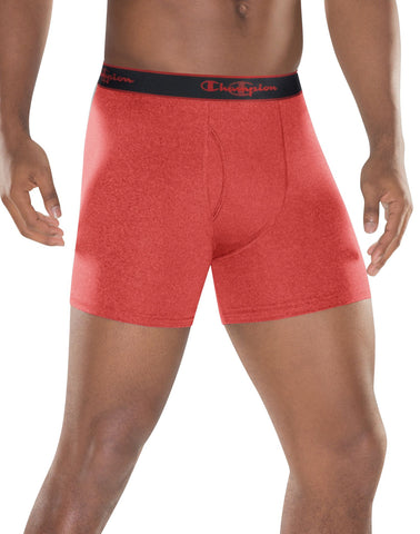 Champion Active Performance Men`s Regular Boxer Brief 3-Pack