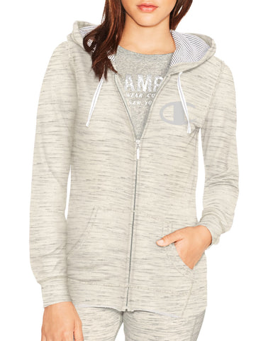 Champion Women's Europe Full Zip Hoodie