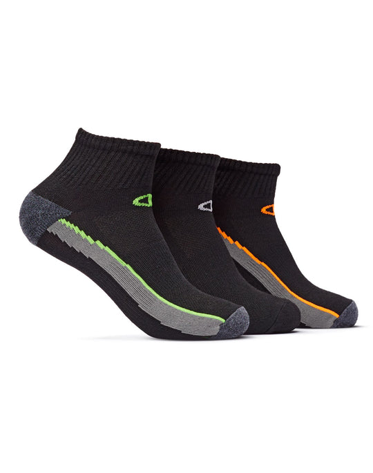 Champion Men's Ankle Training Socks 3 Pairs