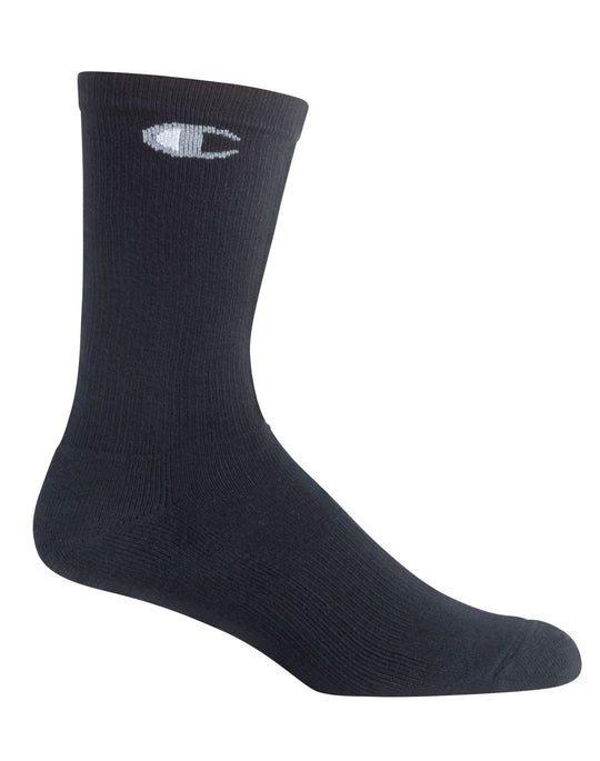 Champion Men`s 6-Pack Crew Socks