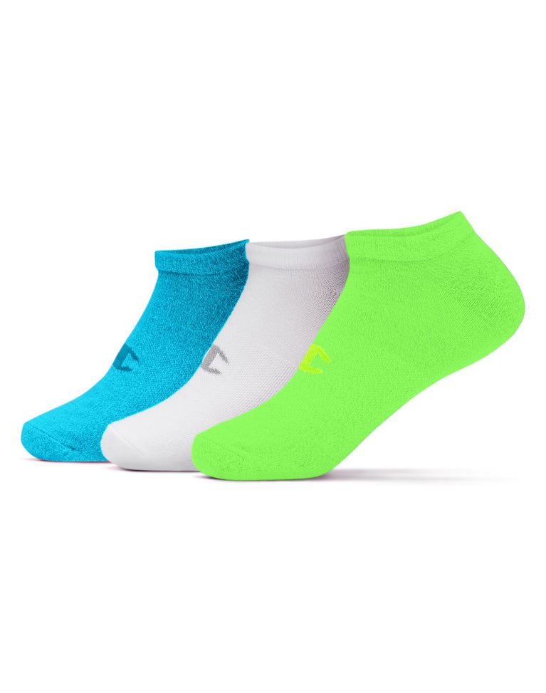 Champion Women's No-Show Socks 3 Pairs