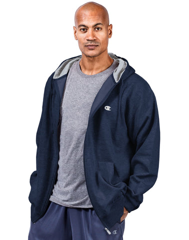 Champion Big & Tall Men`s Zip Fleece Hoodie