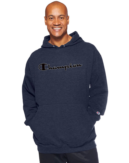 Champion Men`s Big & Tall Graphic Pullover Hoodie