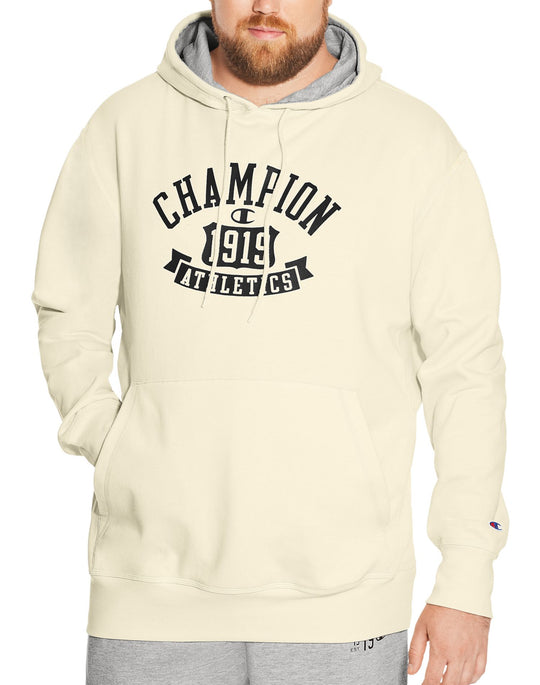 Champion Mens Big & Tall Heritage Fleece Hoodie