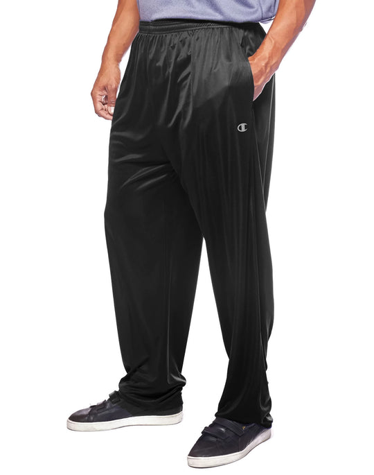 Champion Men`s Big & Tall Performance Open Bottom Pant