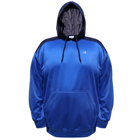 Champion Mens Big & Tall Performance Pullover Contrast Hoodie