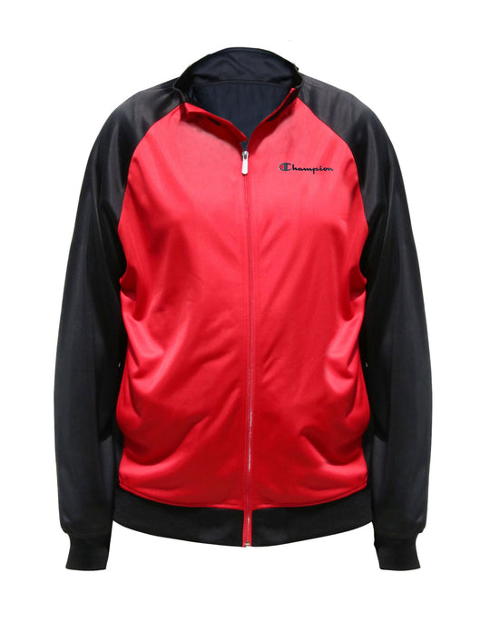 Champion Mens Big & Tall Tricot Track Jacket
