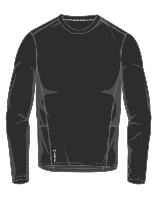 Duofold Mens Varitherm Brushed Back Long Sleeve Crew