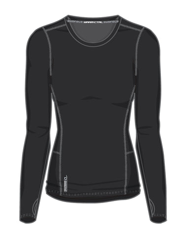 Duofold Womens Varitherm Brushed Back Long Sleeve Crew