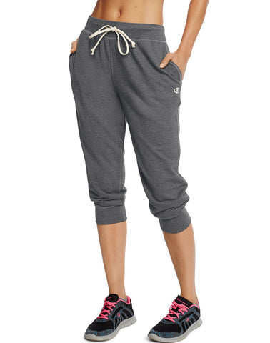 Champion Women`s French Terry Jogger Capris