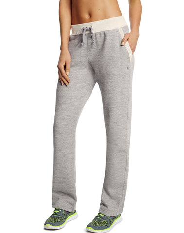 Champion Women`s Fleece Open Bottom Pants