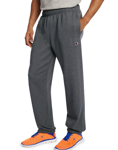 Champion Men`s Powerblend Fleece Relaxed Bottom Pants