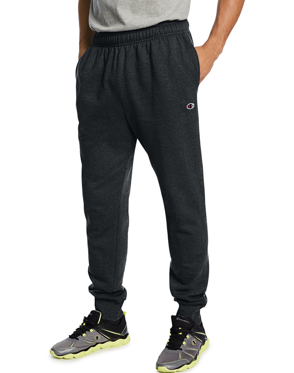 Champion Men`s Powerblend Retro Fleece Jogger Pants