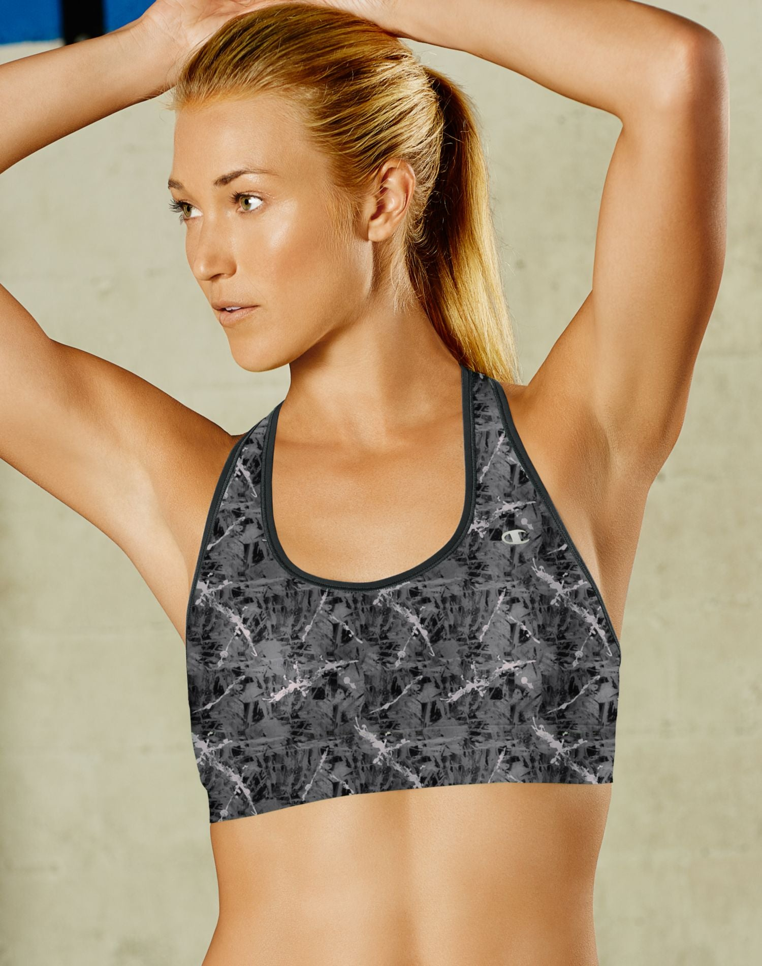 1119dca0f8f7 Champion Absolute Workout Women`s Racerback Sports Bra with SmoothTec™ Band