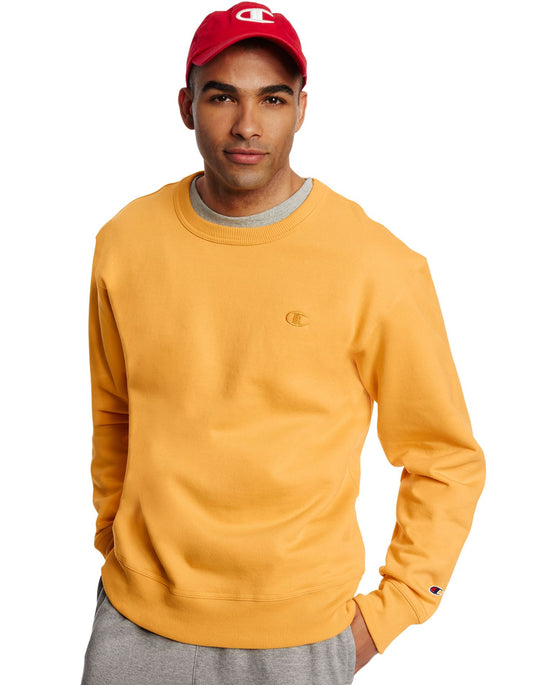 Champion Men`s Powerblend Fleece Pullover Crew