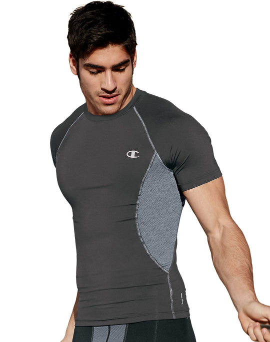 Champion Men`s Gear Compression Short-Sleeve Tee