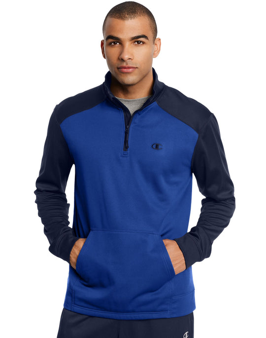 Champion Men`s Tech Fleece 1/4 Zip Pullover
