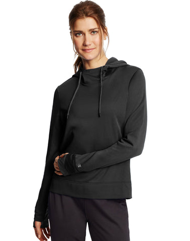 Champion Women`s Tech Fleece Pullover Hoodie