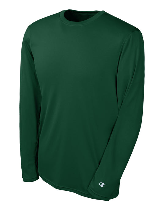 Champion Men's Double Dry Performance Long Sleeve Tee
