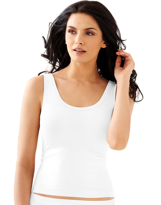 Bali Womens One Smooth U All-Around Smoothing Tank