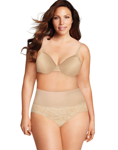 Maidenform Womens Curvy Shaping Brief with Cool Comfort