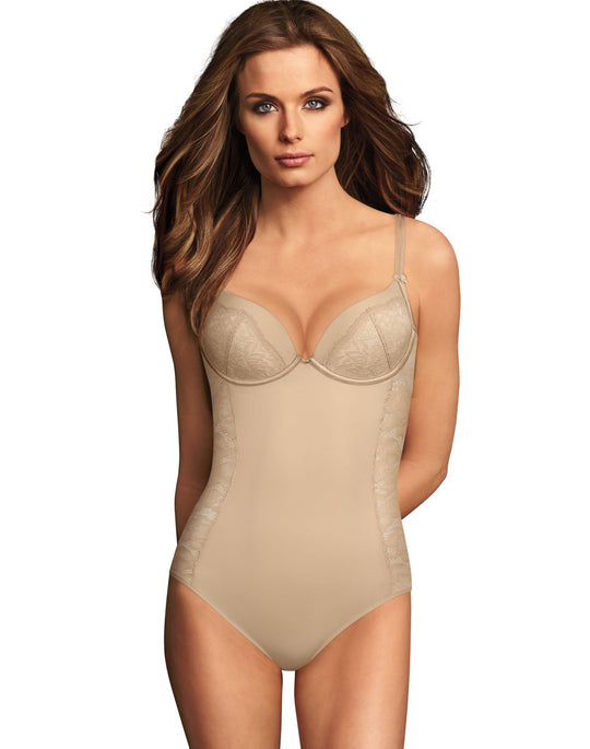 Maidenform Womens Firm Foundations Lift Cup Bodybriefer