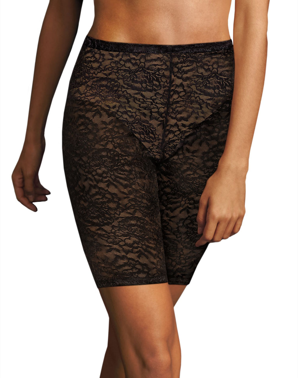 Maidenform Womens Sexy Lace Firm Control Thigh Slimmer