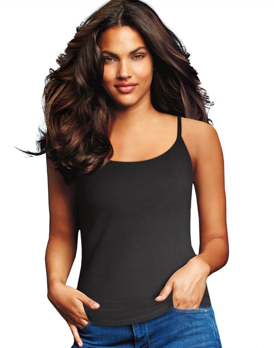 Maidenform Womens Cotton Stretch 2-Pack Camis