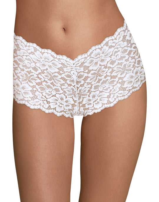 Maidenform Womens Sexy Must Haves Lace Cheeky Boyshort
