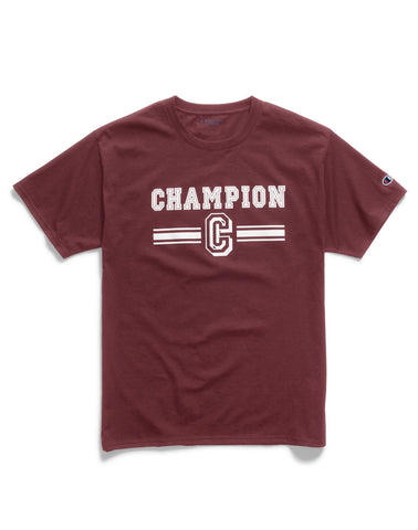 Champion Mens Graphic Jersey Tee
