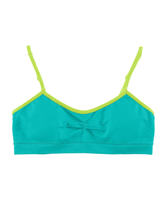 Hanes Girls` Seamless Molded Cup Wirefree Bra