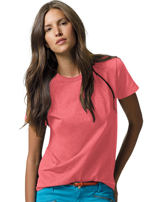 Hanes Women's Relax Fit Jersey Tee 5.2 oz