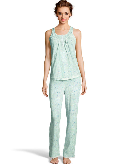 Hanes Womens V-Yoke & Pant Set